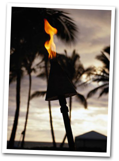 Waikiki Torch Lighting Ceremony